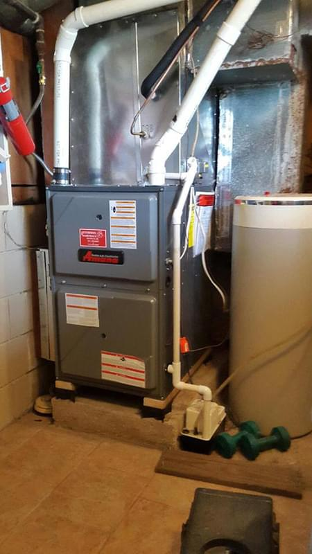 Amana Heating System Installation