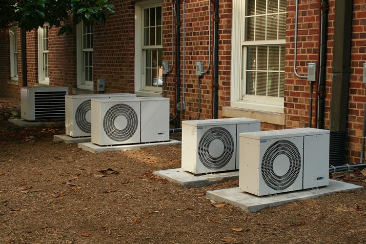 Multiple Daiken Ductless Outdoor Units